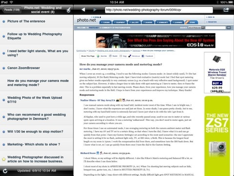NetNewsWire interface